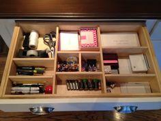 work supplies drawer