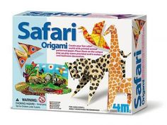 Create a colourful and fun safari world with the printed animals hide patterned paper.