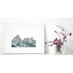 ninotschka fine art print ROSA SONNE (DIN A3 • 29,7x42cm)
