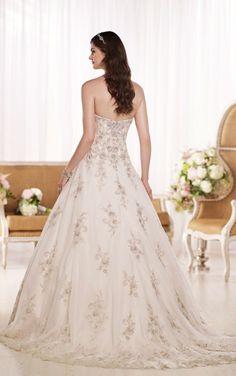 D1757 A-Line Wedding Dress by Essense of Australia