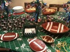 super bowl party decorations can enhance any party if you have the coolest decorations you - Super Bowl Party Decorations