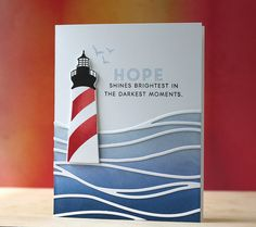 Hope Shines Brightest Card by Laura Bassen for Papertrey Ink (June 2015)