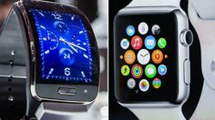 How do Apple and Samsung's new releases compare? #wearables