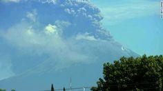 Volcán al oeste de Nicaragua entra en erupción y arroja gas y ceniza