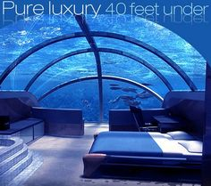 """underwater room"" awesome hotel rooms - Bing Images"