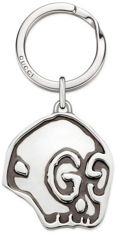 3ea3d4dc1e1 GUCCI Jewel Gucci Ghost Keychain In 925 Sterling Silver With Aureco  Finishing Women Accessories