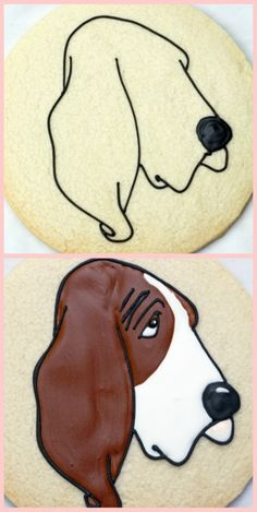 Dog Cookies~         By Sweetopia, Brown, tutorial