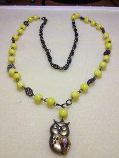 Owl Among Us by JewelryByGenny on Etsy, $10.80