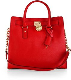 Michael Kors Hamilton - red. Would have been the perfect pop of color for the winter. This in GREEN.