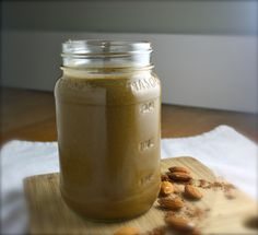 chocolate almond butter (green) smoothie | Dishing Up the Dirt Tastes just like Reese's peanut butter cup!