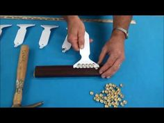 Upholstery Basics: Upholstering an Outside Back Using Pli-Grip (Flexible Metal Tack Strip) - YouTube
