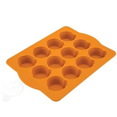 Chicago Metallic Silicone Pumpkin Cakelet Pan and Stencil *** Huge discounts available now! : Baking pans