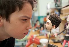 Gallery: New images from 'ParaNorman' . plus: Behind-the-scenes with the stop-motion models