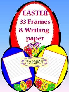 This is a set of 66 individual files to use in your classroom. Use these fun Easter eggs in your Spring creations. This beautiful clip art set will be delivered to you in transparent PNG and JPEG file format via a .zip file. This spring themed packet includes a variety and creative ways for your students to write their stories, poems, letters.