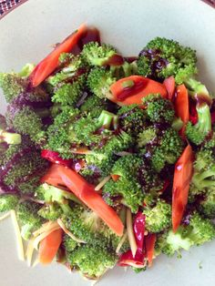 Broccoli with garlic /soy sauce