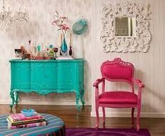 muebles antiguos pintados - Buscar con Google