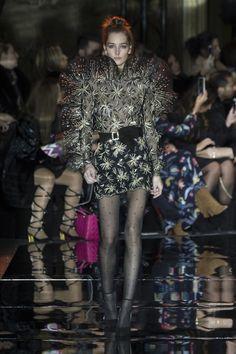 Josephine Le Tutour for Zuhair Murad Spring 2017 Couture