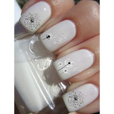 Dandelion Nail Decals (USD 4.5)