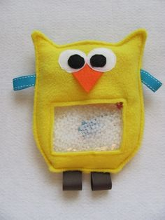 New OWL CRITTER I Spy Bag Yellow limited time by hipbabyboutique