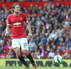 Daley Blind looks to get Manchester United on the attack during their thrashing against QP...