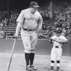 Babe Ruth and Fan