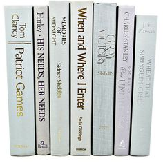 LAVENDER PERIWINKLE Book Decor, Decorative Books,Wedding Decor,... ($40) ❤ liked on Polyvore featuring books, fillers, home, accessories, decor and magazine