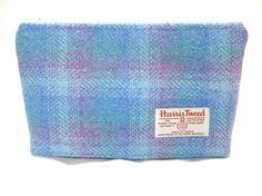 Luskentyre Harris Tweed Travel or Makeup Bag by cairngormbags, $20.00