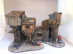 "plessiez's ""virtical"" shanty town - Inquisimunda scenery"