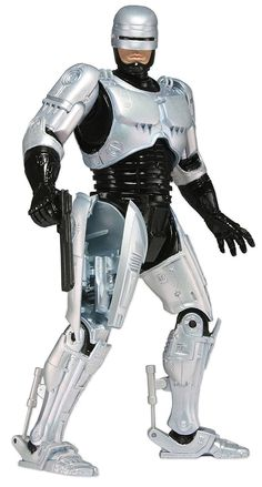 """Amazon.com: NECA Robocop - 7"""" Scale Action Figure with Spring Loaded Holster: Toys & Games"""