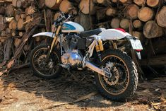 A Harley-heavy mix with a cafe racer from Italy, a scrambler from Japan and a UK-built tracker. Plus a rally-style Royal Enfield, and a cafe'd Panigale! Street Bikes, Road Bikes, Dirt Bikes, Harley Davidson Scrambler, Enfield Himalayan, Ducati Superbike, D Day Landings, Harley Bikes, Dual Sport
