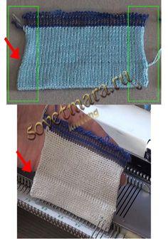 podgib-polotna-01.jpg  Подгиб полотна по линии низа – это простая, стандартная операция, которая не должна отнимать много времени у вязальщицы.
