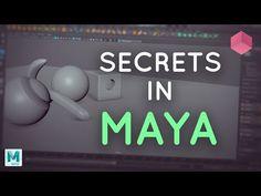 Modelling Secrets in Maya - YouTube