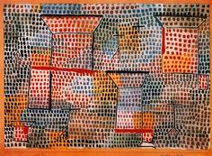 Kreuze und Saeulen. Paul Klee.