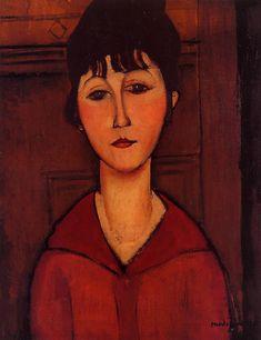 Testa di giovane donna 1916