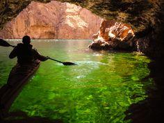 emerald cave black canyon - Google Search