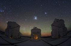 Night sky over Paranal Observatory in Chile Y. Beletsky/ESO