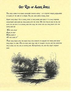 Book-of-Shadows-Spell-Pages-Get-Rid-of-anger-Spell-Wicca-Witchcraft-BOS                                                                                                                                                                                 More