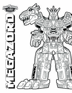 download them all httpwwwpowerrangerscom - Power Rangers Dino Coloring Pages