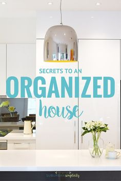 Looking for some help keeping your family organized? Try these Simple Organization Ideas that include smart strategies and clever shortcuts to help you waste less time and get more done! | Home Organization
