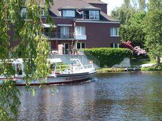 Schiff auf der Alster in Alsterdorf  www.Hamburg-Stadtteile.de