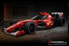 Ferrari Close Canopy Concept F1