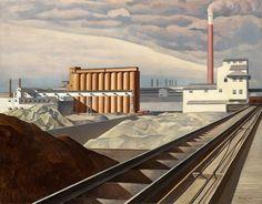 Classic Landscape, Charles Sheeler 1931