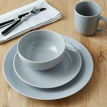 Palette Dinnerware Set - Platinum