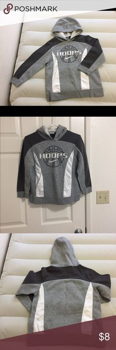 Nike Boys hooded sweater Boys' Nike hooded sweater in a small. Gently worn and in great condition. Like new! Nike Shirts & Tops Sweatshirts & Hoodies