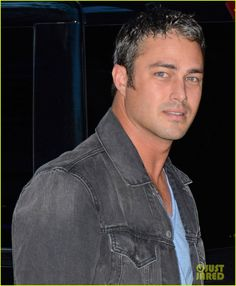 : Photo Taylor Kinney and Jesse Spencer flash a smile as they make their way inside the NBC Studios to make an appearance on the Today show on Tuesday (September in… Fitness Before After, Lady Gaga, Lancaster, West Virginia, Taylor Kinney Chicago Fire, Jesse Spencer, Salt And Pepper Hair, Hot Asian Men, Dating Women