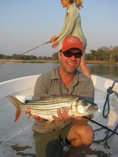 Tigerfishing on the Zambezi