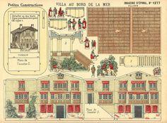 Petites constructions.  No. 1277 Villa Au Bord de la Mer. Epinal.