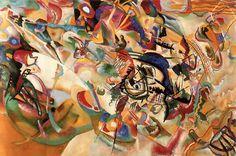 Wassily Kandinsky | Wassily-Kandinsky-xx-Composition-No.7-1913-xx-The-State-Tretyakov ...