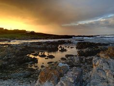 Sunrise near Danger Point lighthouse, South Africa. (Photo A. Some Pictures, My World, Lighthouse, South Africa, Sunrise, Places, Water, Outdoor, Bell Rock Lighthouse
