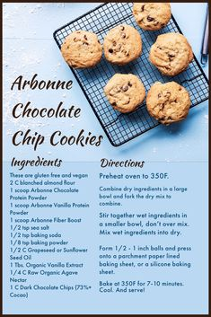 Vegan and Gluten Free Approved Cookies that will curb your sweet tooth in an instant! You can find Arbonne's Protein Powders by clicking the link! Protein Powder Recipes, Protein Shake Recipes, Protein Foods, Vegan Protein, Arbonne Shake Recipes, Arbonne Protein Shakes, Healthy Vegan Cookies, Healthy Sweets, Arbonne Cleanse